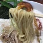暁 製麺 - 中太ストレート麺