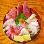 魚河岸 - 海鮮丼(ランチ)