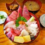 魚河岸 - 海鮮丼定食(ランチ)