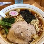 かまや食堂 - 中華そば650円