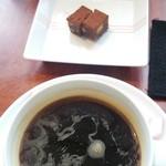 エキ ポンテベッキオ ア オオサカ - 食後のプチスイーツとコーヒー