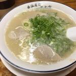 長浜屋台 一心亭 - ラーメン 490円