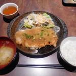 播鳥 - 総州古白鶏チキンカツおろしポン酢