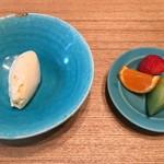 日本料理 e. - 通常のデザート