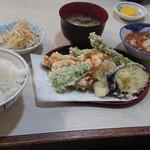 てんぷら にってん - 天ぷら定食(ランチ)