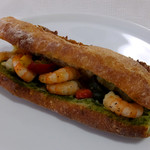 ブーランジェリー・フリアンド - エビと南イタリア野菜のホットサンド843円