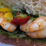 ブーランジェリー・フリアンド - エビと南イタリア野菜のホットサンド