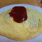 キッチンサン - オムライス¥756大盛¥108