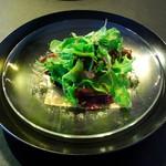 アクエリウムお台場 - 朝採り野菜のサラダ 自家製マスタードドレッシング