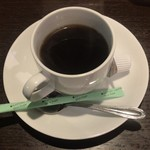86700504 - あさりとしめじ ¥850 に付くコーヒー