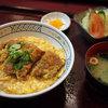 風林火山 - 料理写真:かつ玉丼定食