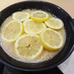 壽 - レモンそば(880円)