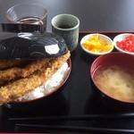 なぶら亭 - 料理写真:♪ソースカツ3枚丼¥780