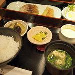 はかた天乃 - 銀ダラ味噌定食