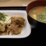 松屋 - 和風タルタルチキン単品+豚汁