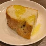 ボーノロッソ - ランチのパン