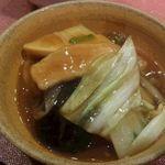 儷郷 - 豚肉と野菜の煮込み