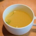 チャベ - 【ヤギ肉カレーとごはん@税込950円】スープ