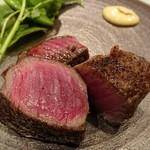 86707362 - 神戸牛のランプステーキ