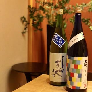 季節のお酒も入荷!夏の日本酒&焼酎ハイボール☆