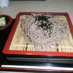 中央大学教職員食堂 - 料理写真:もりそば330円であります。