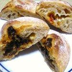 8671802 - たまねぎパンとトマトとチーズのパンの具☆