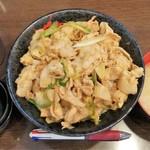 名物すた丼の店 - すた丼630円+肉増し
