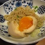 麺 みつヰ - 味玉加減