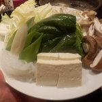 北海道しゃぶしゃぶ ポッケ - お野菜追加