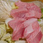 浅草一文 - (撮影 20180529)見た目からして新鮮な「ねぎま鍋」…うまい!