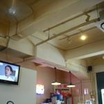 SlowCafe - 高い天井