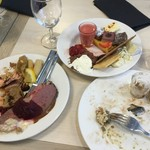 Tallink Silja International  - コールドメニューだけでも豊富で2皿ペロリでした!、
