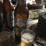 仔牛屋 - ビールでかんぱいね。