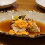 心粋厨房 獬 - 料理写真:ワタリガニの醤油漬け