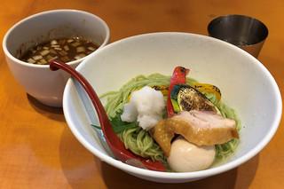 麺屋 翔 品川店 - 春の煮干しつけ麺900円