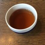 おかた茶屋 - ほうじ茶