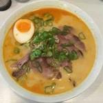 マルヨ - カレーラーメン+焼豚(糖質カット麺)