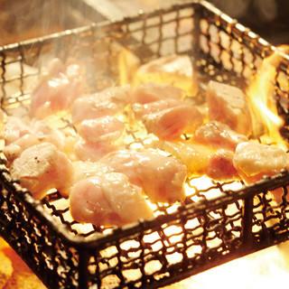 ★絶品★もも肉の豪快炙り焼き!ご賞味下さい。