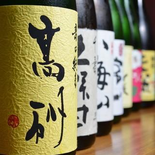 【ドリンク】日本酒や焼酎にこだわっております!