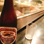 阿武茶″ - キリンラガービール(瓶)