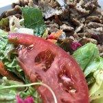 バルシュ ケバブ スタンド - Kebab Rice Beef ¥860 + Lサイズ ¥240