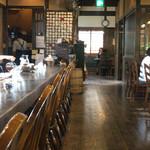 珈琲 庵 - 木の空気満載な店内
