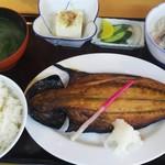 渡辺鮮魚 - さば開き定食1080円