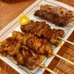 大国ホルモン - 焼きトン(5本盛り合わせ)