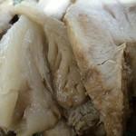 86729965 - 「デリシャスラーメン(大)」の豚バラチャーシュー