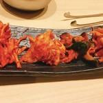 焼肉・すき焼き 純 - キムチ盛り合わせ(税別680円)