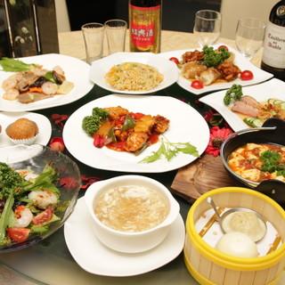 定番料理から高級食材まで味わえる本格中華