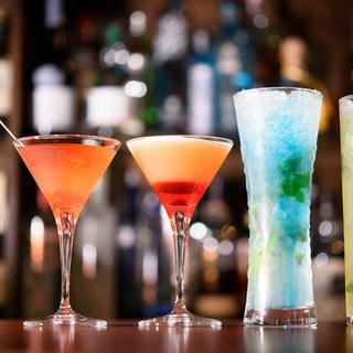 本格ノンアルコールカクテルで、お酒が苦手な方もBARを堪能◎