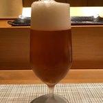 福鮨 - ドリンク写真:ビール