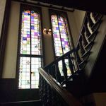 ラ・メゾン・キオイ - 階段踊り場のステンドグラス